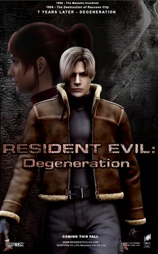 Vùng Đất Quỷ Dữ: Sự Thoái Hóa - Resident Evil: Degeneration