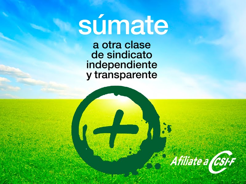 Súmate a CSI-F