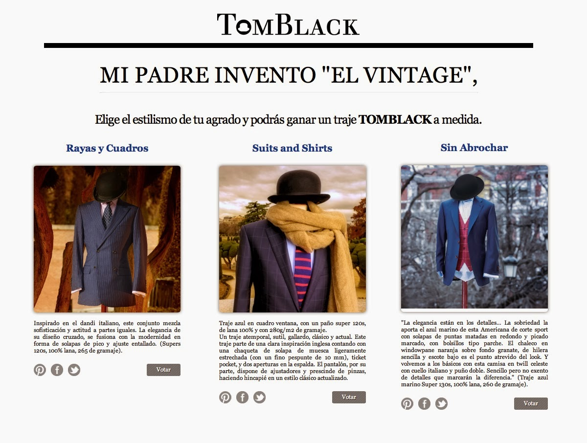 Tom Black, Mipadreinventoelvintage, vintage, trajes, Suits and Shirts, Sin Abrochar, Rayas y Cuadros, menswear, bloggers,