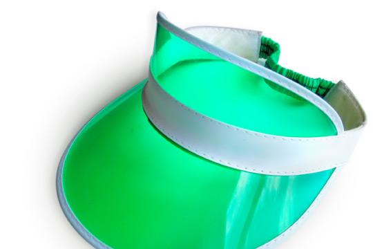 Accountant Green Visor2