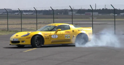 Corvette C6 Z06 - Lancez les accélérations brutales