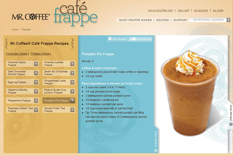 Sweet N Sour Deals Mr Coffee Cafe Frappe Machine