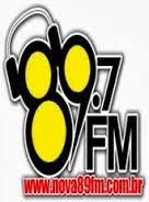 ouvir a Rádio Nova 89 FM Gaspar SC