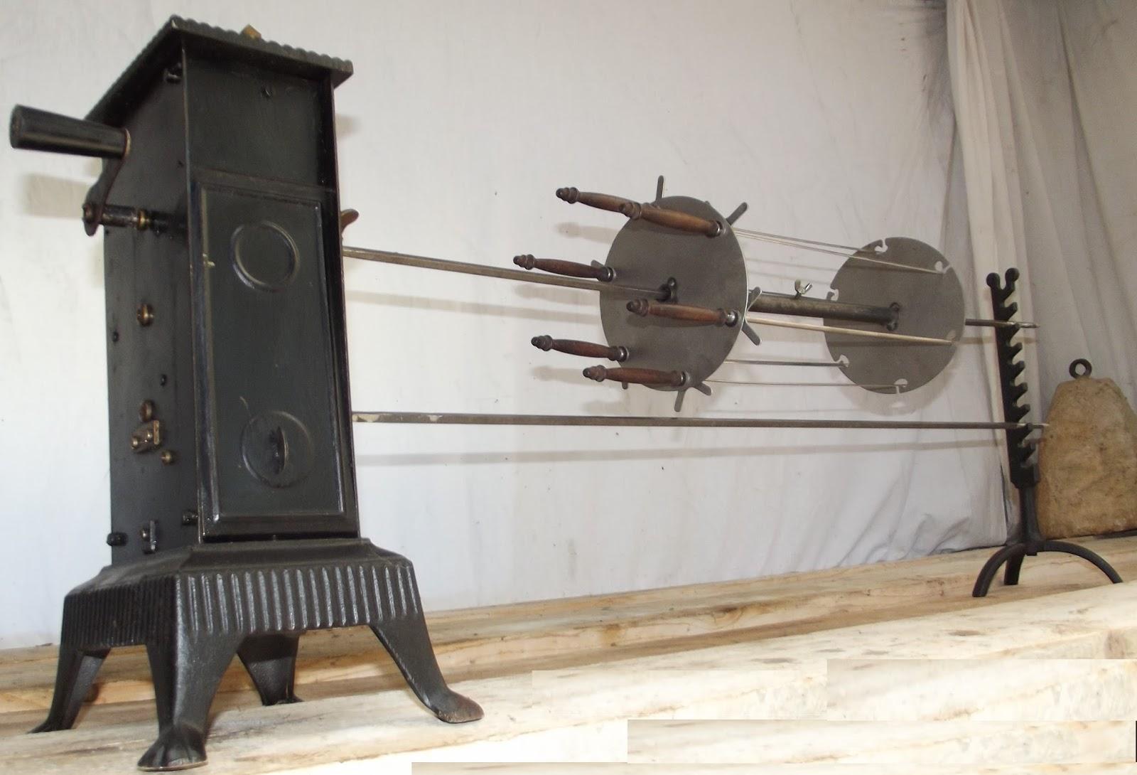 grand tourne broche m canisme d 39 horlogerie marque fuf barbecue brochettes grives ebay. Black Bedroom Furniture Sets. Home Design Ideas