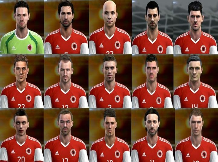 PES 2013 Albania Facepack 2015 by aLbiii