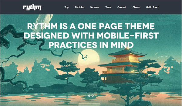 rythm-one-page-responsive-wordpress-theme