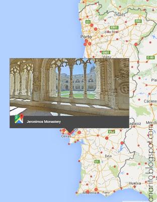 google street view, mosteiro dos jerónimos, portugal