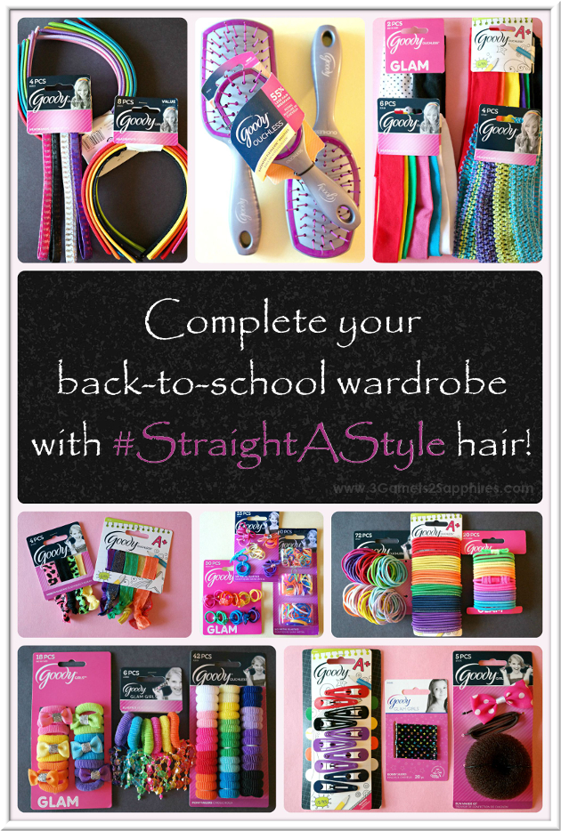 Complete her back-to-school wardrobe with Goody #StraightAStyle hair accessories!