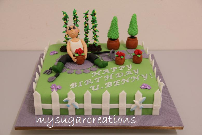 images of cakes with garden theme - photo #15