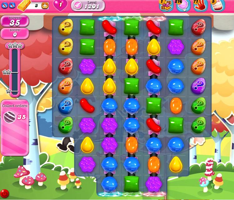 Candy Crush Saga 1201