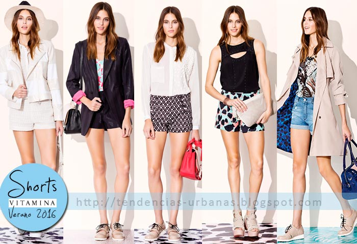 shorts de moda Vitamina verano 2016