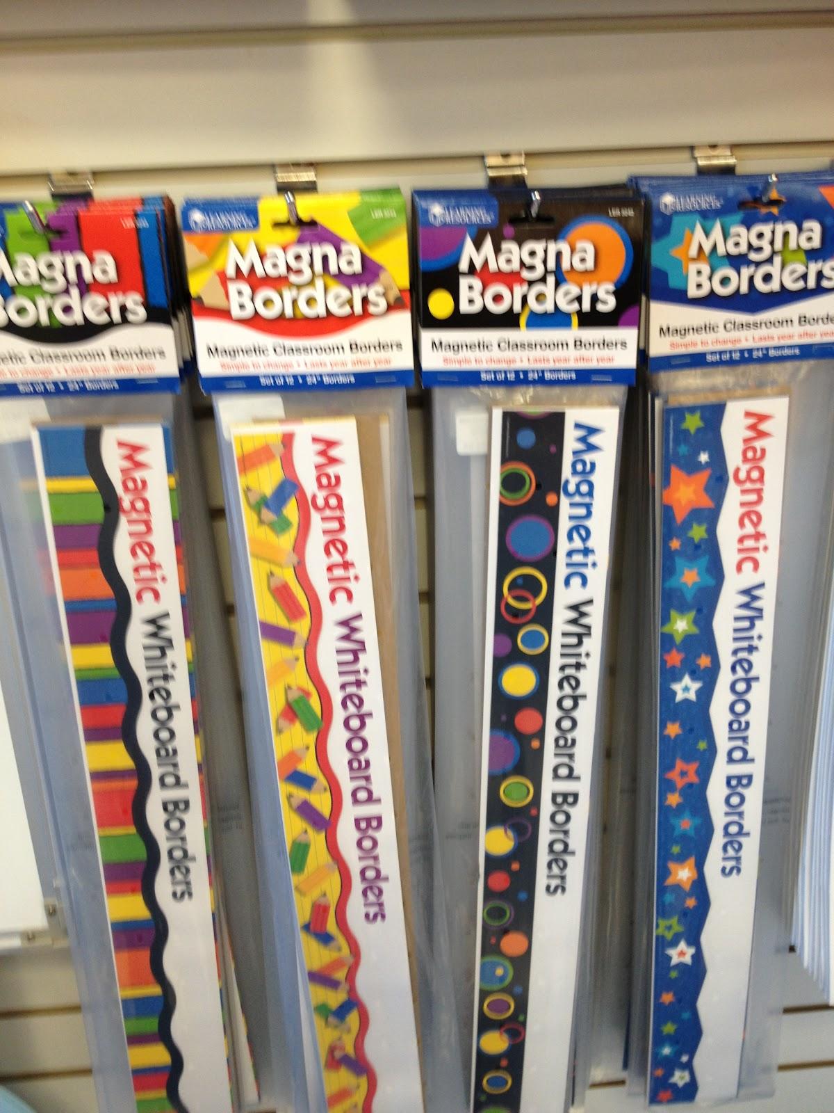 Lakeshore Classroom Decor ~ Teaching fashionista magna borders