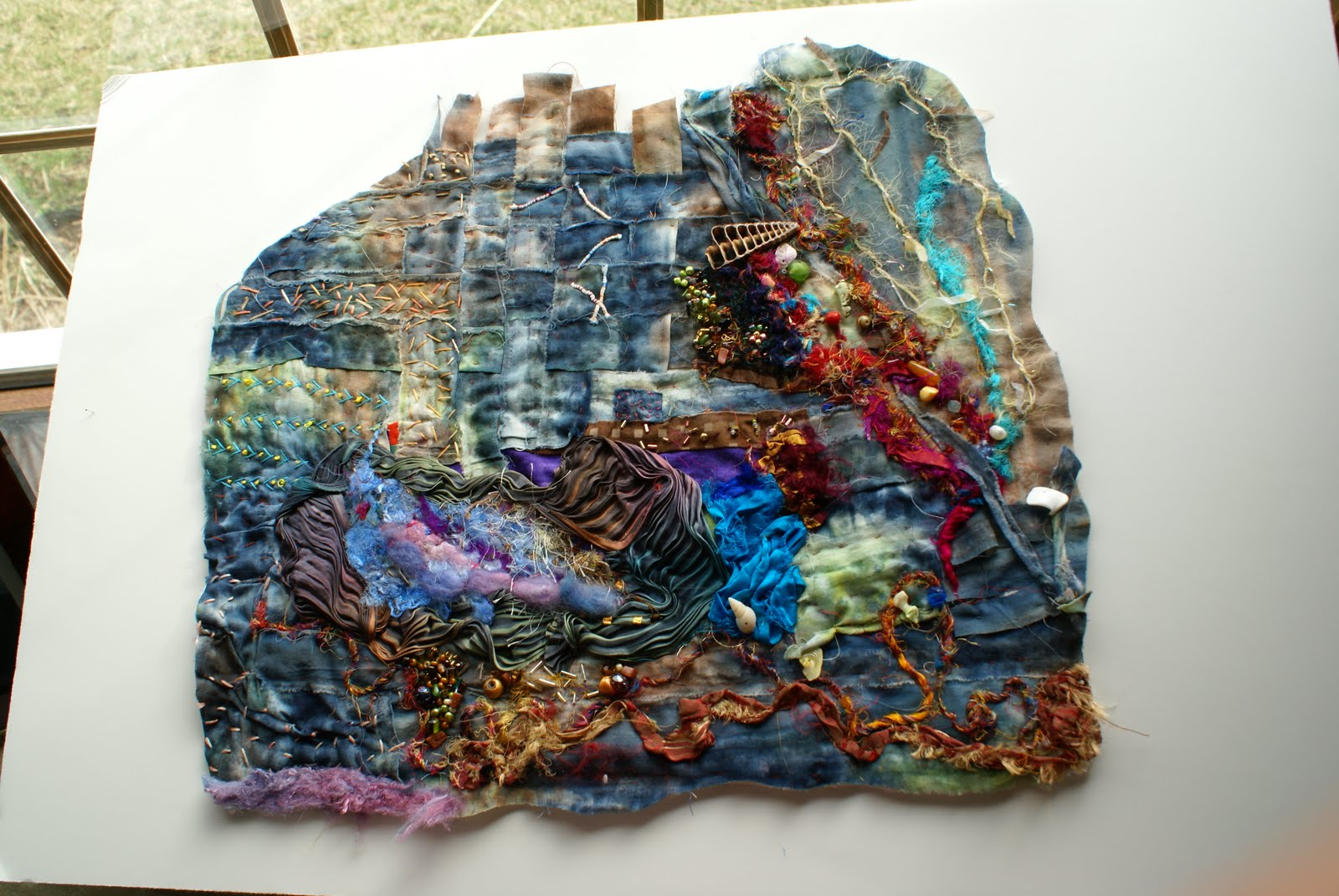 Textile Wall Art art crafty: textile art 2011. wall art and fiber pieces