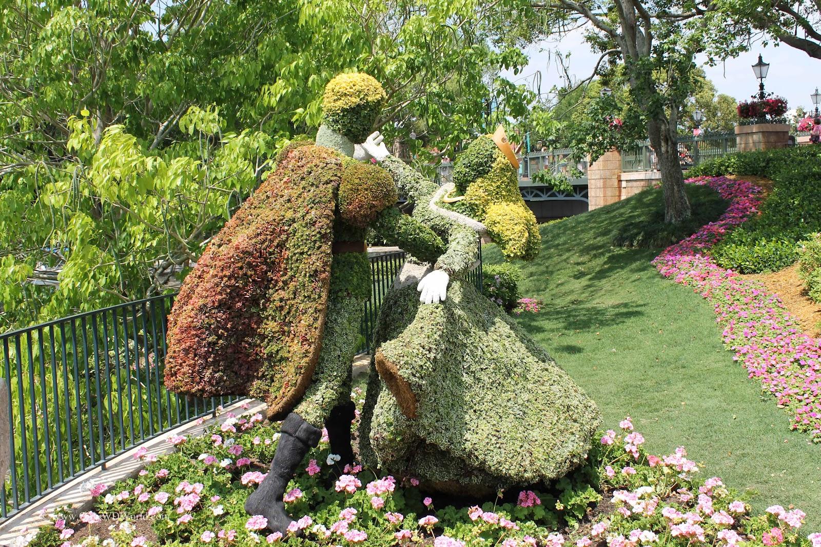 Experience The 2012 Epcot International Flower Garden