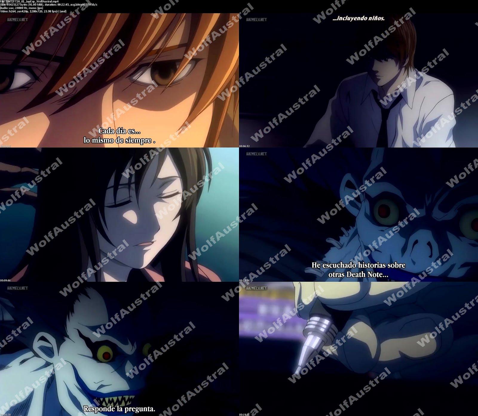 Death Note 720p: Death Note [Japonés Sub Español][37/37][720p]