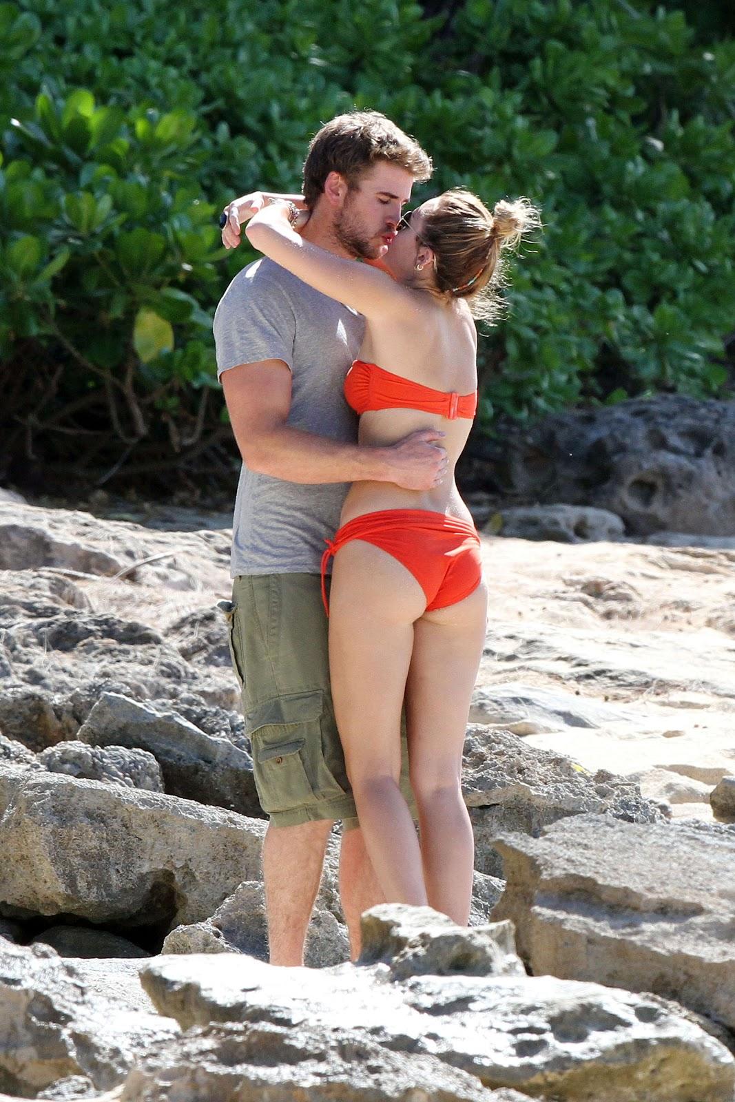 Celanimboa - high quality babes: Miley Cyrus in a bikini on Hawaii ...