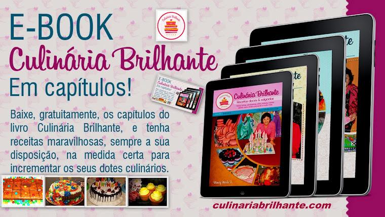 E-book Culinária Brilhante em capítulos