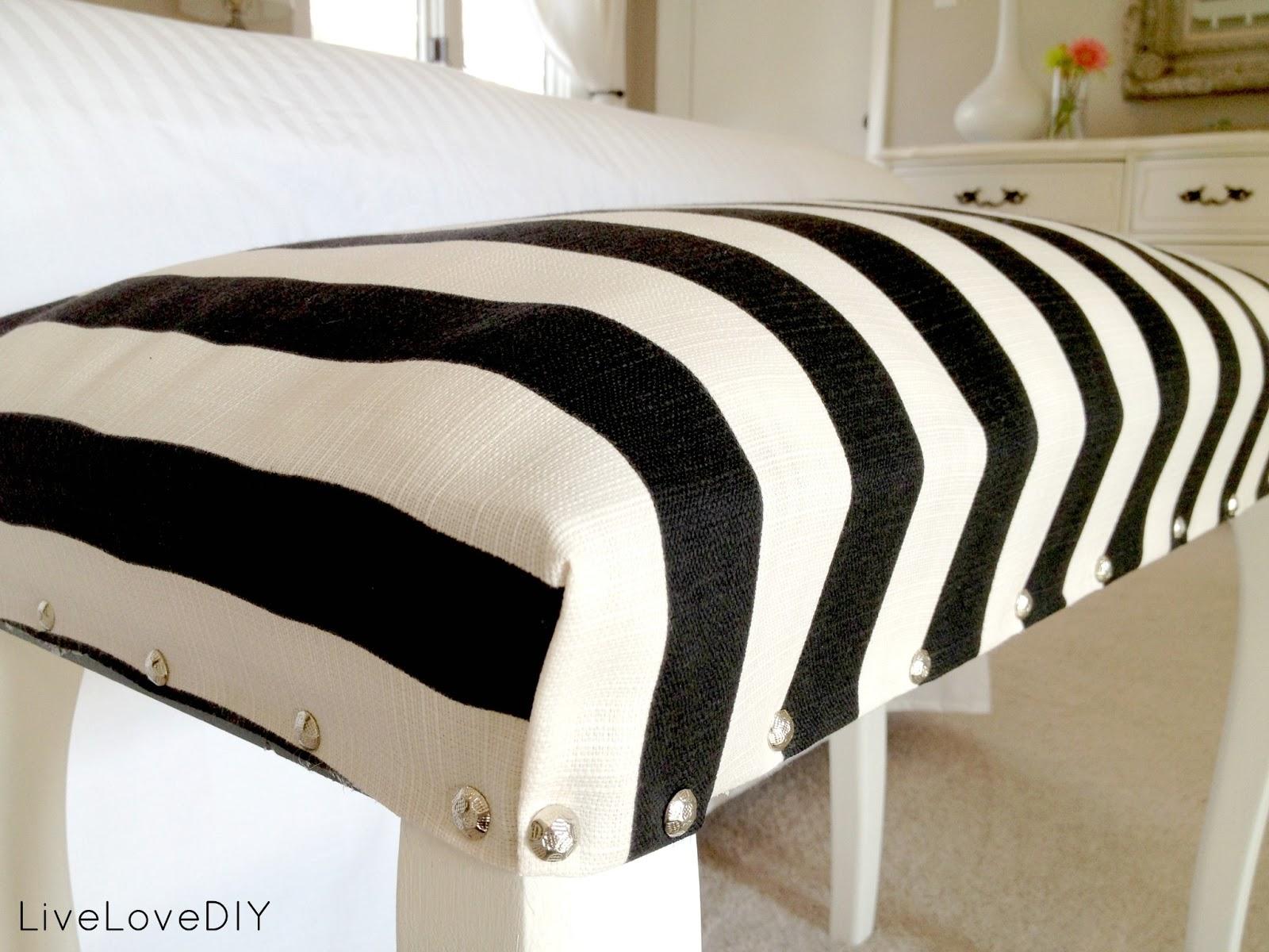 Diy Bedroom Bench livelovediy: master bedroom updates!