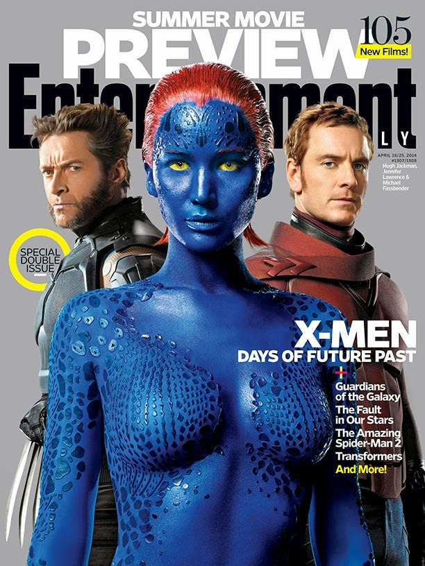 The X-Men cast covers Entertainment Weekly April 18th-25th