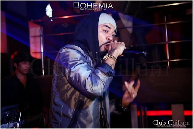 BOHEMIA THE PUNJABI RAP STAR - LIVE CLUB CHILLUM