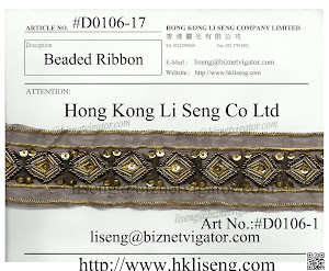 Beaded Ribbon Manufacturer - Hong Kong Li Seng Co Ltd