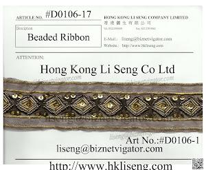Beaded Ribbon Manufacturer - Hong Kong Li Seng Co Ltd