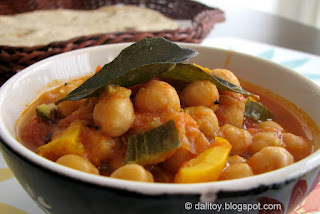Spicy Chick Pea Stew/ Vaagu