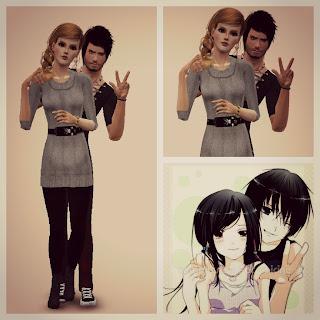 Позы для TS3 Pose Player - Страница 5 Couples+pose+3