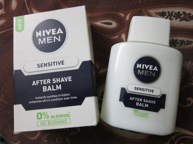Nivea Men After Shave Balm (Sensitive) - Review  image