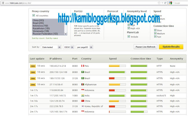 Cara Mengganti IP dengan IP Luar Negeri