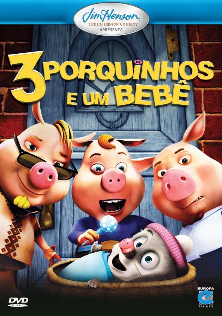 3 Porquinhos e Um Bebê – Dublado (2008)