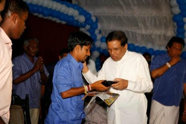 Prasanna Solangaarachchi Joins Maithripala