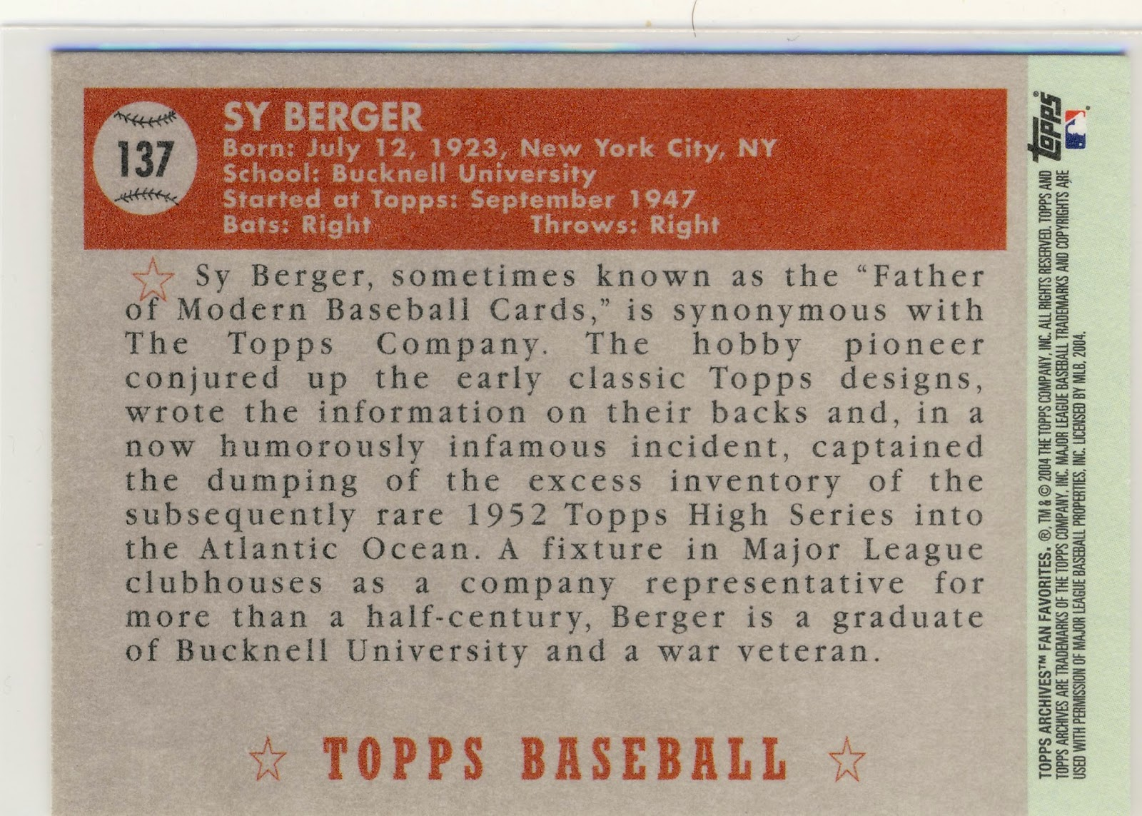 topps company inventory evaluation