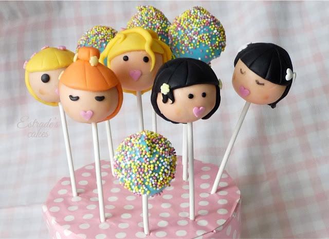 cake pops de muñecas - 1
