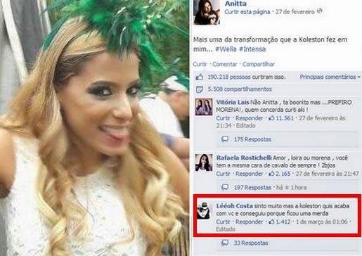 Anitta loira em Ouro Preto - Créditos: Douglas Couto / Divulgação / R7