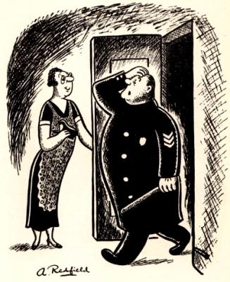 La polizia manganella