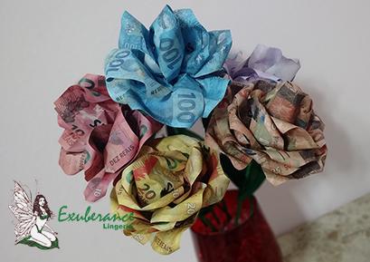 Rosas/Flores de Dinheiro