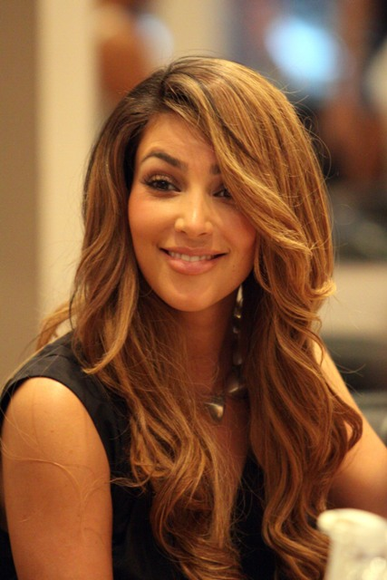 <b>Kim Kardashian's hair color</b>