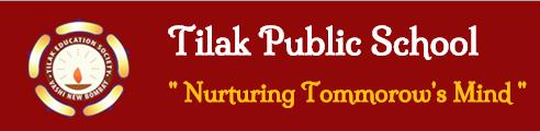 Tilak Public School Nerul Logo