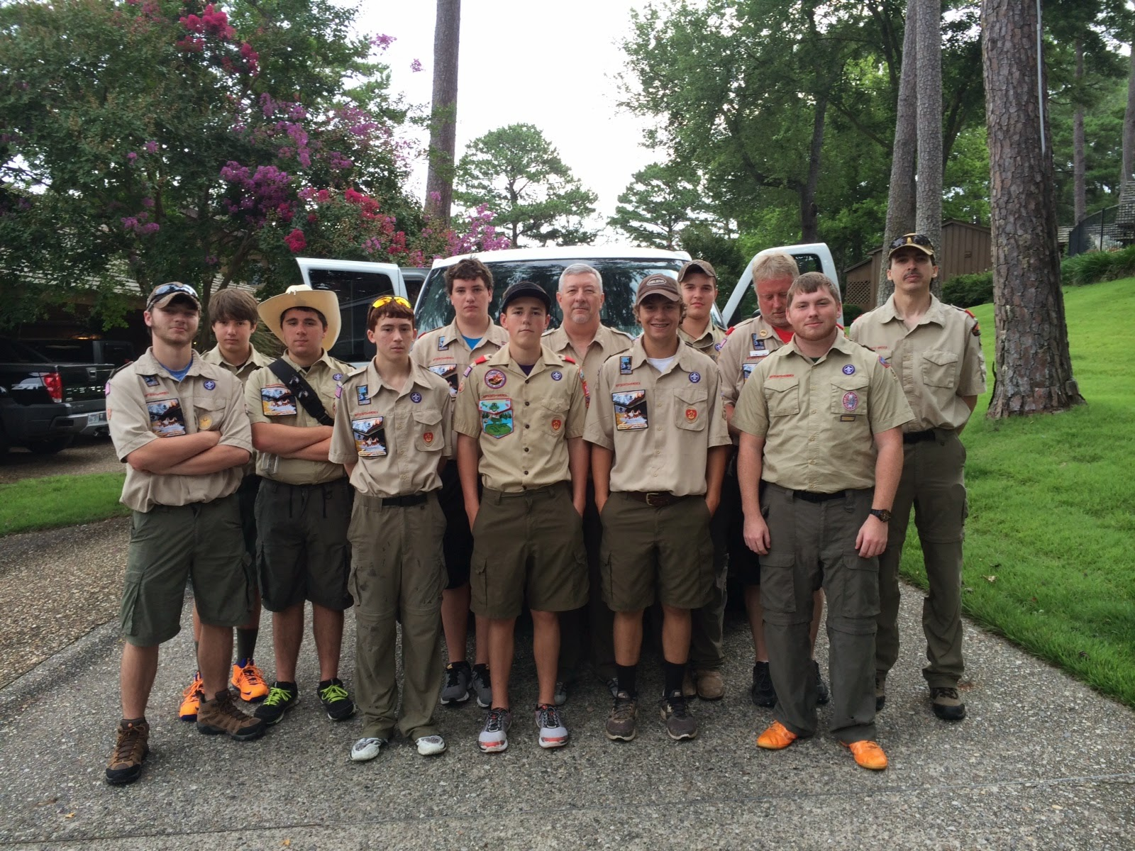 DeSoto Area Council's 2014 Philmont Contingent