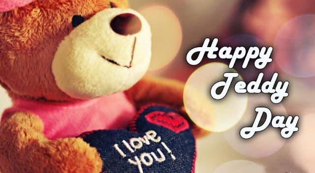 Teddy day 2016 small and Cute teddy bears, Happy Teddy Bear day 2016 I Love u image