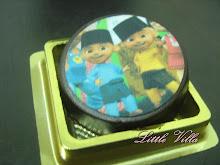Coklat cookies - edible image