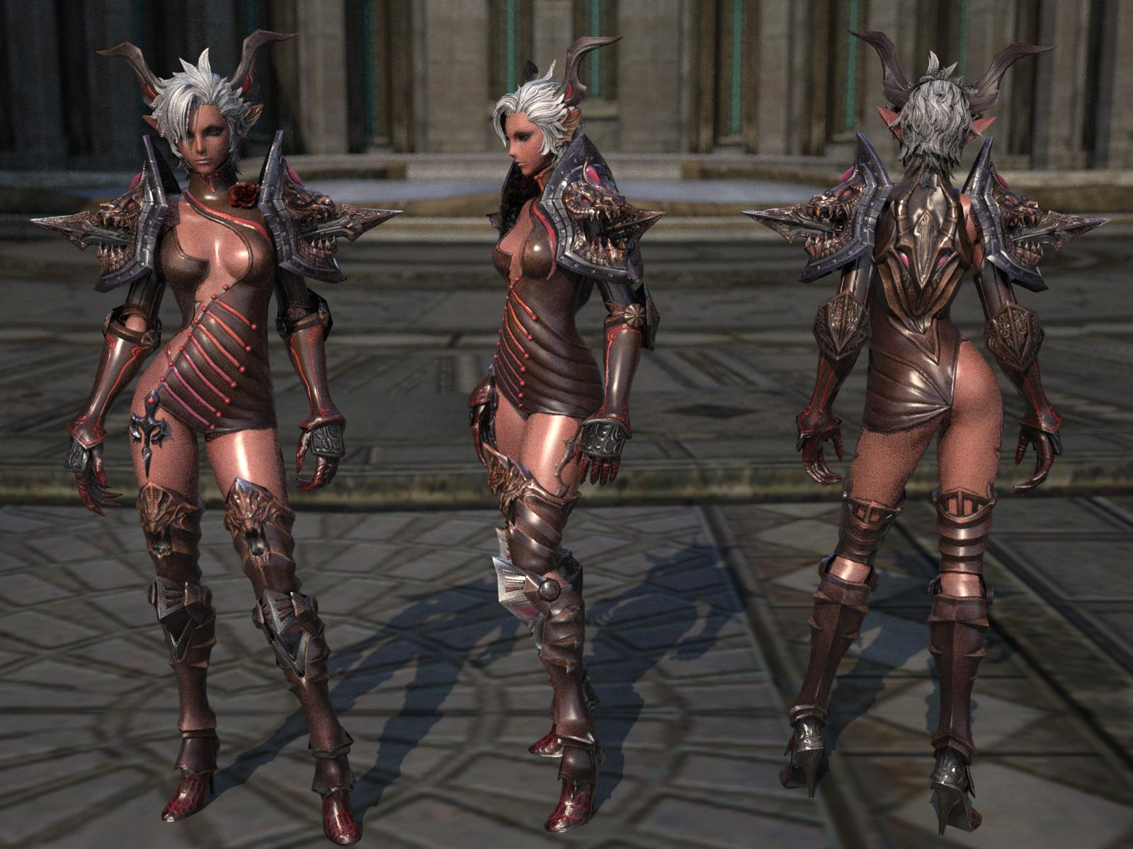 Aion skin sexy naked pictures