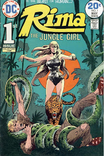 Cover of Rima the Jungle Girl #1 from DC Comics
