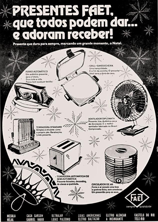 1971; os anos 70; propaganda na década de 70; Brazil in the 70s, história anos 70; Oswaldo Hernandez;