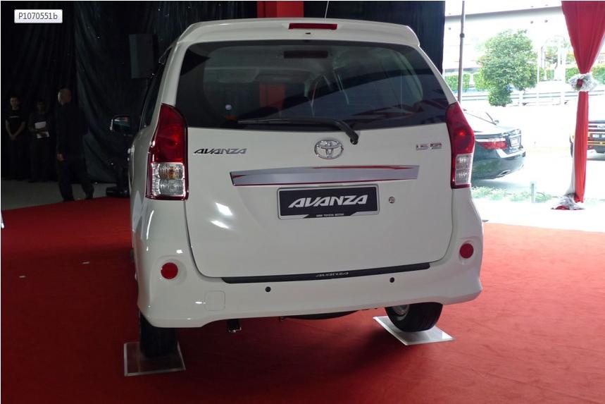 Gambar Toyota MPV Avanza Baru 4