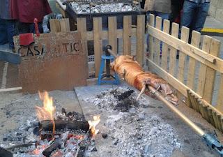 Cerdo asado Vic Osona Barcelona