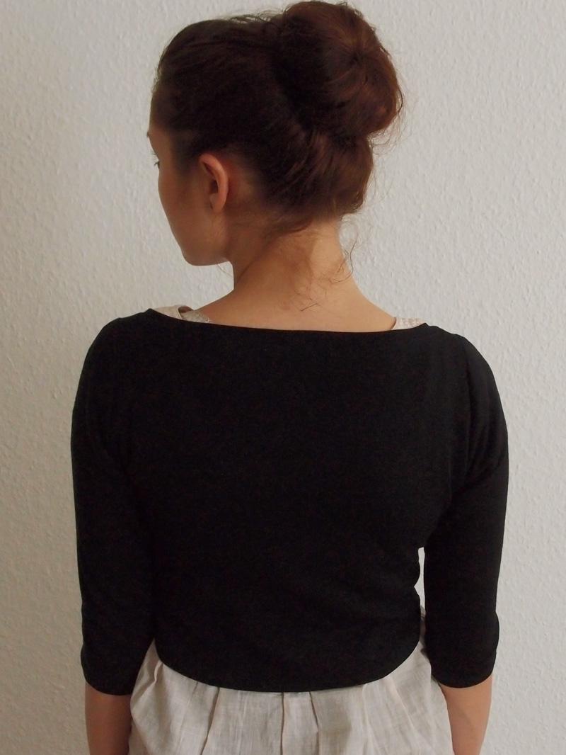 Kurzer Hi-Lo Pullover | von mri