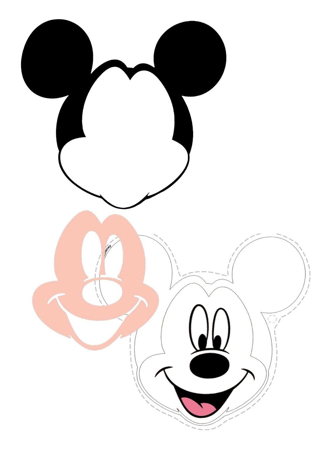 Tarta fondant Mickey Mouse (¡con plantilla imprimible gratis!)
