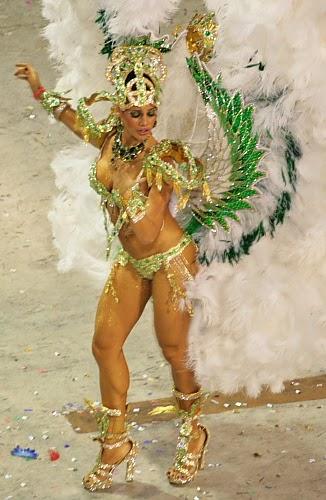 Grande Rio - Carnaval 2010 - destaque de chão